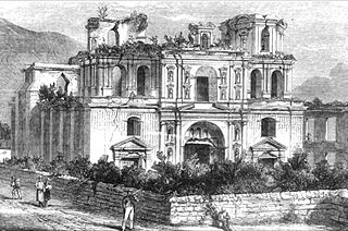 Iglesia y Convento de la Compañía de Jesús, Antigua Guatemala