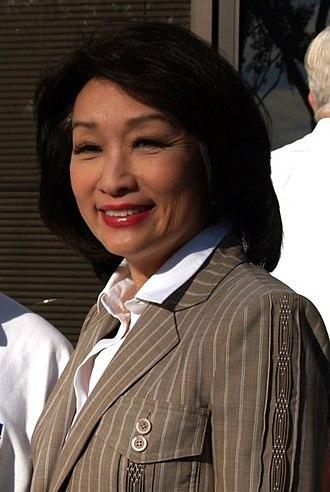Connie Chung - Chung in San Diego in 2008