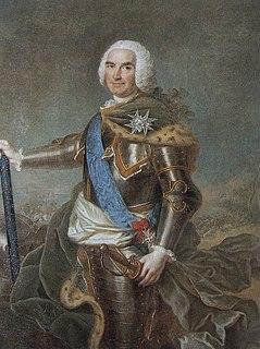 Louis Georges Érasme de Contades Marshal of France