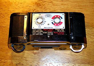 Contaflex SLR - Contaflex Super B film back