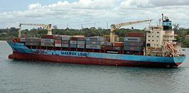 MV Maersk Alabama in 2009