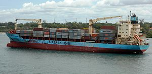Maersk Alabama leaves Mombasa, Kenya, April 21, 2009.