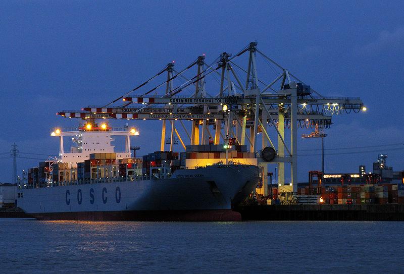 Platz 5: Hamburger Hafen (Bildquelle: Wikipedia.org)