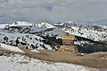 Continental divide on Loveland pass 3654 m.jpg