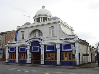 Wetherspoons - The Picturedrome in Liverpool, a converted cinema