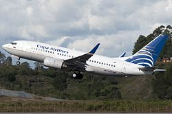 Copa Airlines Colombia Boeing 737-700 Ramirez.jpg
