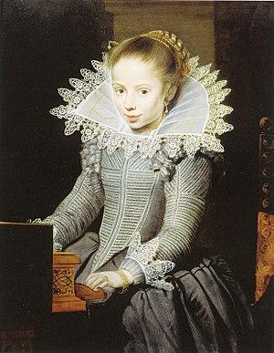 Supportasse - Image: Cornelis de Vos Girl at a Virginal