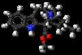 Coronaridine molecule ball.png