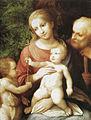 Correggio, sacra famiglia con san giovannino, orleans.jpg
