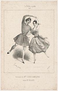 Costumes de Mlle. Sophie Dumilatre et de Mr. Hoguet. Le diable à quatre. Ballet (NYPL b12147655-5133982).jpg