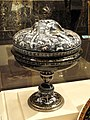 Coupe with Cover, workshop of Jean Court dit Vigier, Limoges, c. 1550 - Nelson-Atkins Museum of Art - DSC08642.JPG