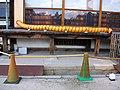 Covid19 air refresh equipment of Nijō-jo Castle 02.jpg