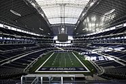 Cowboys Stadium full view