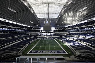 AT&T Stadium, home of the Dallas Cowboys Cowboys Stadium full view.jpg