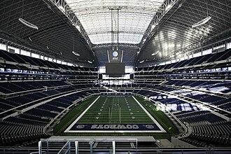 AT&T Stadium - Interior