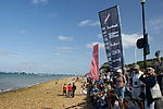 Cowes beach at Egypt Point during Cowes Week 2011.JPG