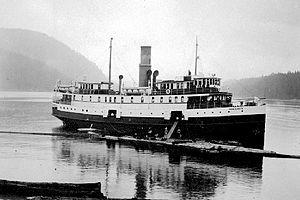 Cowichan (steamship) - Image: Cowichen (steamship) circa 1918
