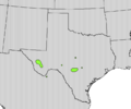 Crataegus tracyi range map.png