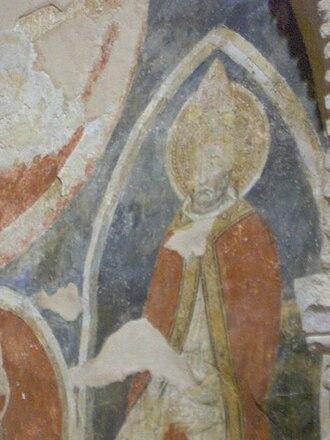 Justin of Chieti - Image: Cripta San Giustino Ch 3