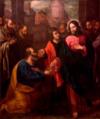 Cristo entregando as chaves a São Pedro (séc. XVII) - Marcos da Cruz.png