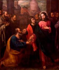 Christ Handing the Keys to Saint Peter