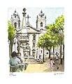 Croquis- Lisbonne -place S.Paulo (14665694194).jpg