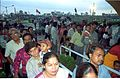 Crowd - Dinosaurs Alive Exhibition - Science City - Calcutta 1995-June-July 528.JPG