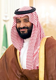 Mohammad bin Salman Saudi crown prince and minister of defense