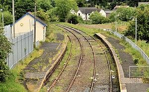 Crumlin railway station (Northern Ireland) - Image: Crumlin station (2012) (geograph 2997191)