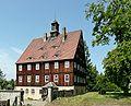 Cunnersdorf - Blick auf das Verwaltungsgebäude des Forsthofes - geograph.org.uk - 8465.jpg