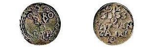 Moneta di Catanzaro del XVI secolo