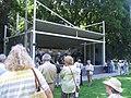 Düsseldorf, Hofgarten, letztes Konzert der Peter Weisheit Band im Musikpavillon, Juli 2013.jpg