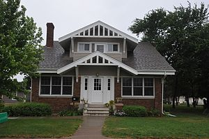 National Register of Historic Places listings in Potter County, South Dakota - Image: D. H. AND LEAH CURRAN HOUSE, POTTER COUNTY, SD