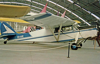 de Havilland Leopard Moth aircraft