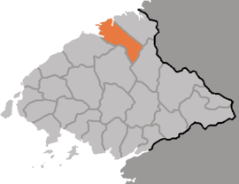 Location of Changsong County