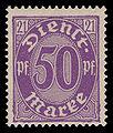 DR-D 1920 21 Dienstmarke.jpg
