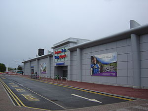 Durham Tees Valley Airport - Image: DTVA Terminal