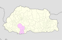 Dagana Bhutan location map.png