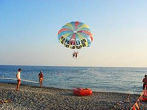Caucasian Riviera - At the beach in Dagomys