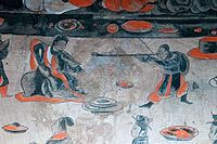 Dahuting mural detail of a dancer, Eastern Han Dynasty.jpg