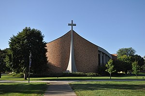 Dakota Wesleyan University - The main chapel