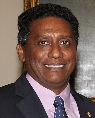 Vice-President of Seychelles - Image: Danny Faure 2013 04 23