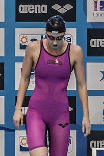 Daria Ustinova Russian swimmer