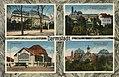 Darmstadt, Hessen - Großherzogl. Palais; Künstlerkolonie, Blick auf Ernst Ludwigshaus; Bahnhof (Zeno Ansichtskarten).jpg