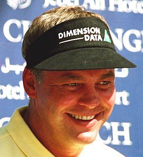 Darren Clarke Professional golfer