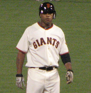 Darren Ford (baseball) - Ford with the San Francisco Giants in 2010