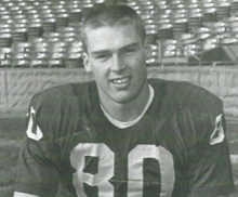 Portrait of Dave Williams in Cardinal uniform