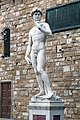 David (Michelangelo) marble replica 2 2013 February.jpg
