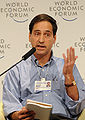 David E. Bloom at the World Economic Forum Summit on the Global Agenda 2008.jpg