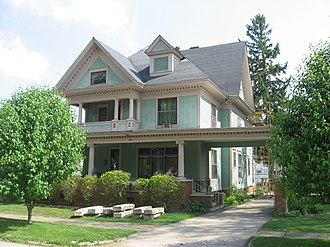 National Register of Historic Places listings in Benton County, Indiana - Image: David S. Heath House